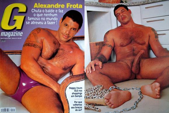 Alexandre Frota pelado na G Magazine