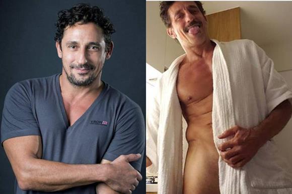 Fotos do ator Tuca Andrada pelado