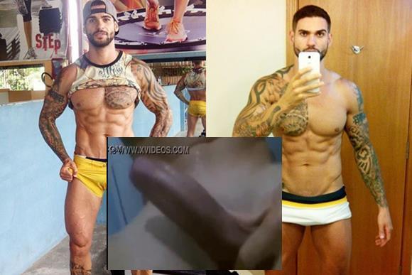 Rodrigo Portuga do BBB14 batendo punheta na webcam