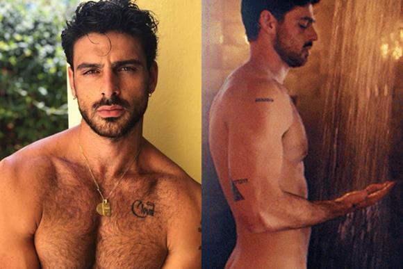 Fotos e vídeo do ator Michele Morrone pelado em 365 DNI