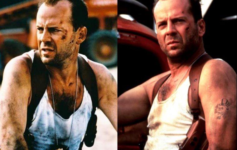 Vídeo e fotos do ator Bruce Willis pelado