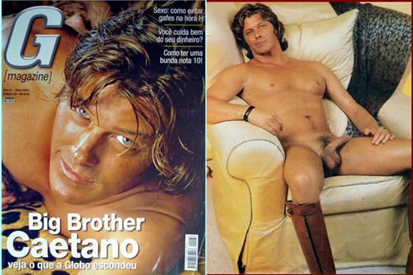 Caetano Zonaro pelado na G Magazine
