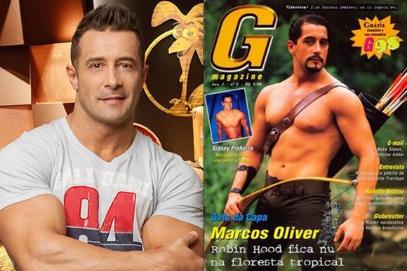 Marcos Oliver pelado na G Magazine - A Fazenda 6
