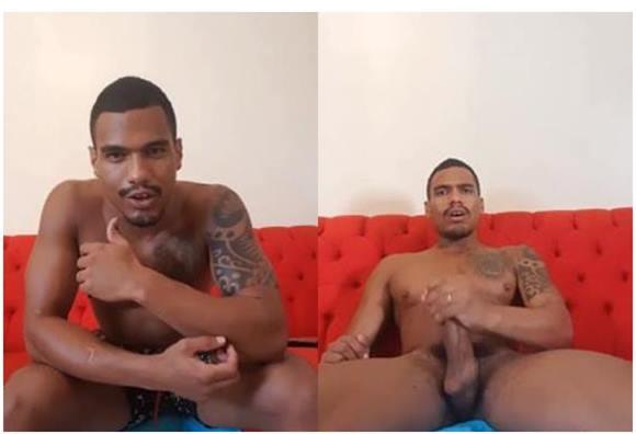 Marcelo Pauzão batendo punheta e gozando