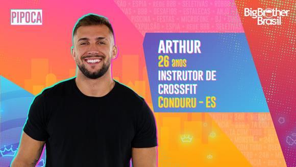 Fotos íntimas de Arthur do BBB21