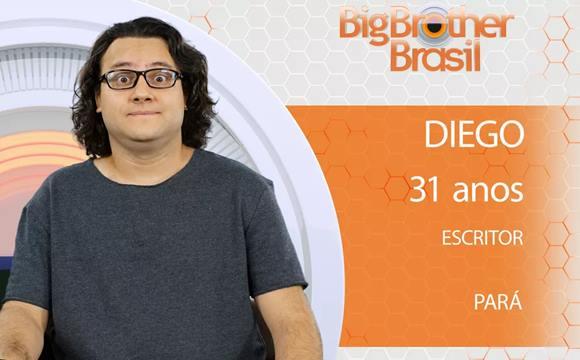 Vídeo de Diego do BBB18 mostrando o pênis