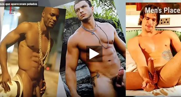 Vídeo de famosos brasileiros pelados