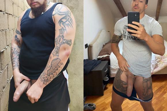 Fotos de machos e novinhos nus do Twitter