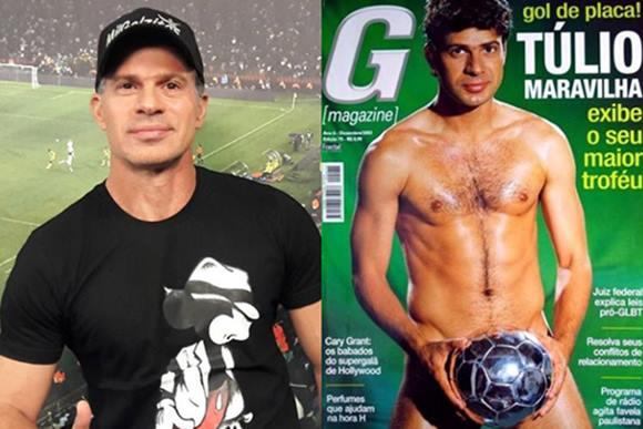 Jogador Túlio Maravilha Pelado Na G Magazine