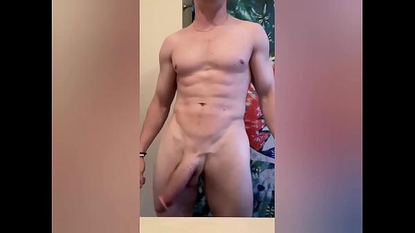 Homem bissexual da pica grande e grossa na punheta